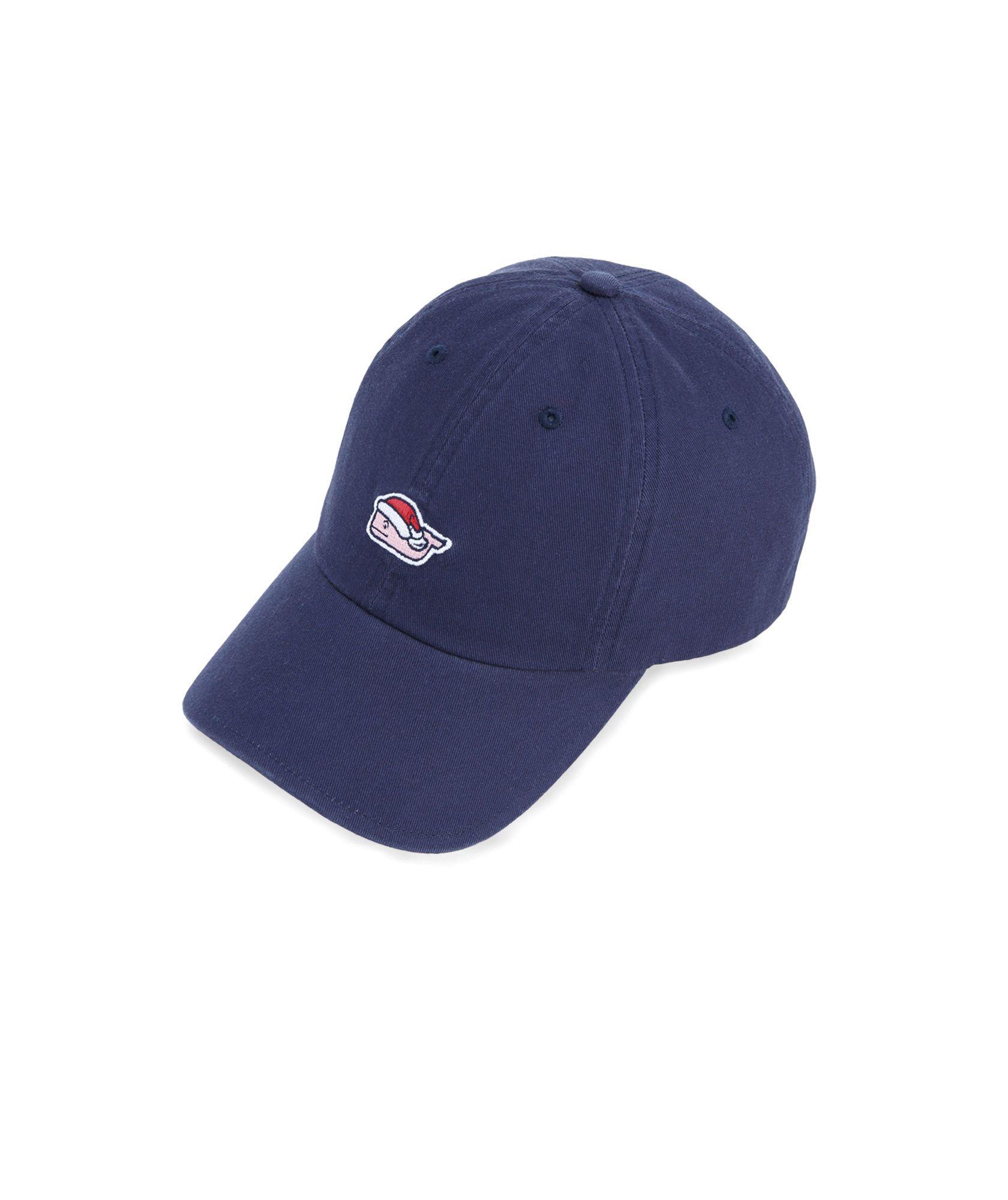 9a2eb816b63 Santa Whale Mistletoe Baseball Hat
