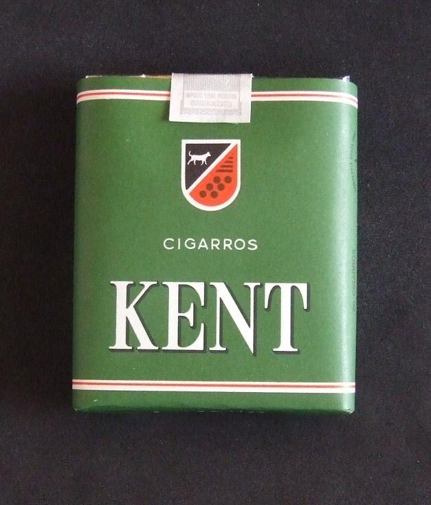 Extremamente E quem não se lembra desta famosa marca na época? KENT - A  JP13