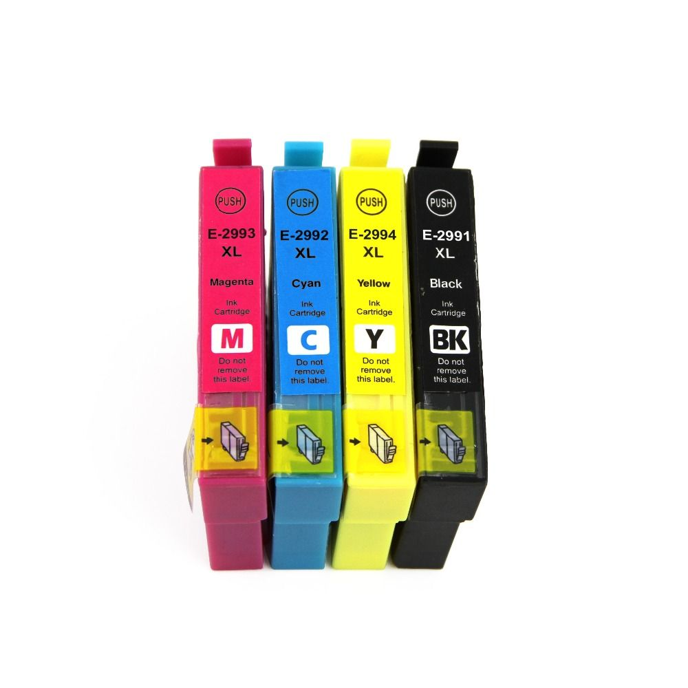 Compatible Ink Cartridge For Epson T2991 T299xl For Epson 29xl 2991 T2992 T2993 T2994 For Epson Printer Xp 332 Xp Epson Ink Cartridges Ink Cartridge Cartridges