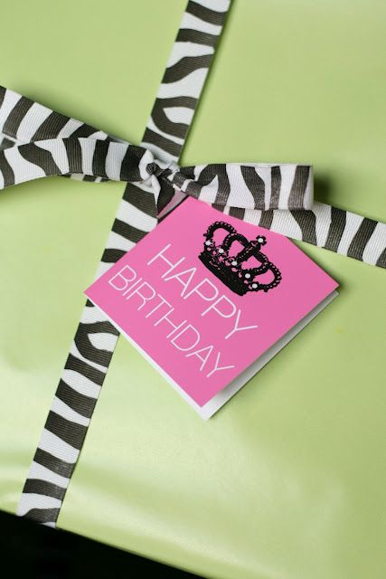 {Free Printable} Happy Birthday Mini Notecards! | The TomKat Studio