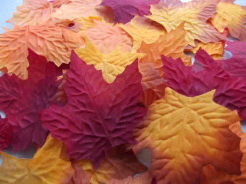 100 autumnmaple silk leaves multi colouredweddingdecoration 100 autumnmaple silk leaves multi colouredweddingdecoration amazon kitchen home junglespirit Choice Image