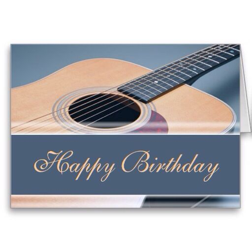 Happy Birthday Guitar (With Images)