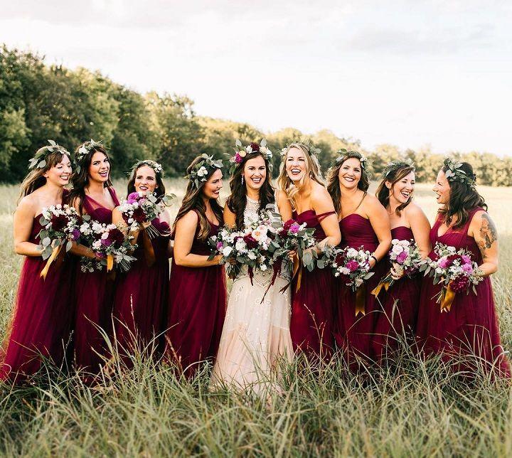 Burgundy Bridesmaid Dresses Perfect Choice For Fall Wedding Fab Mood Wedding Colours Wedding Themes Wedding Colour Palettes,Plus Size Wedding Dresses Mermaid Style Lace