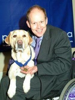 Endal The Canine Partner Of Gulf War Veteran Allen Parton Was