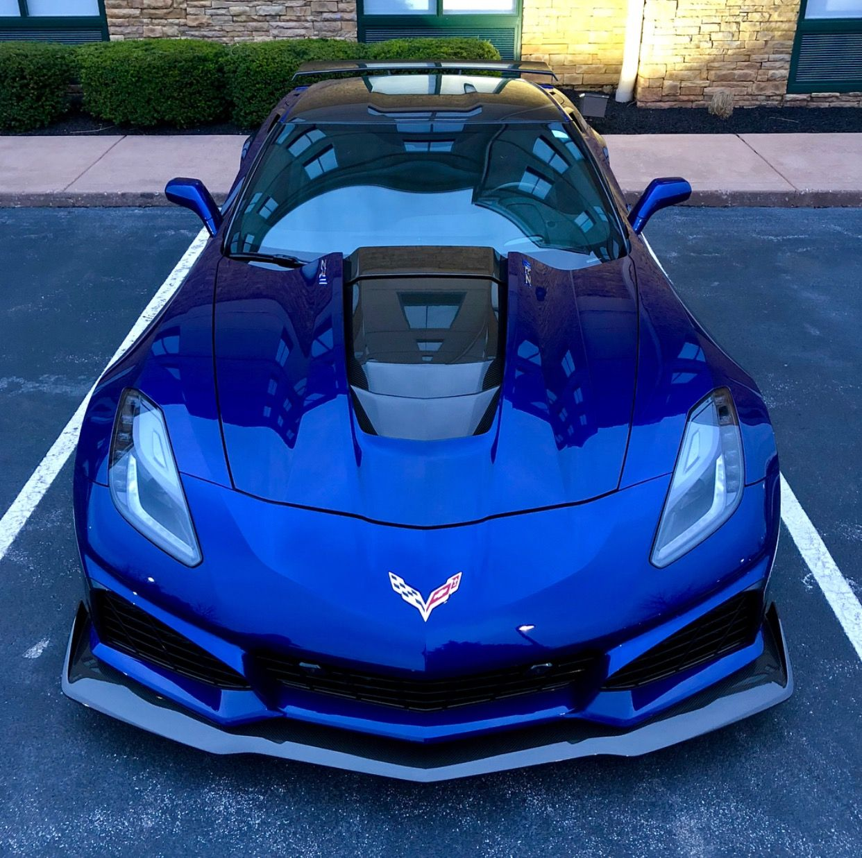 Chevrolet Corvette C7 Zr1 Painted In Admiral Blue Photo Taken By Nickrenly On Instagram Chevrolet Corvette Chevrolet Corvette C1 Corvette