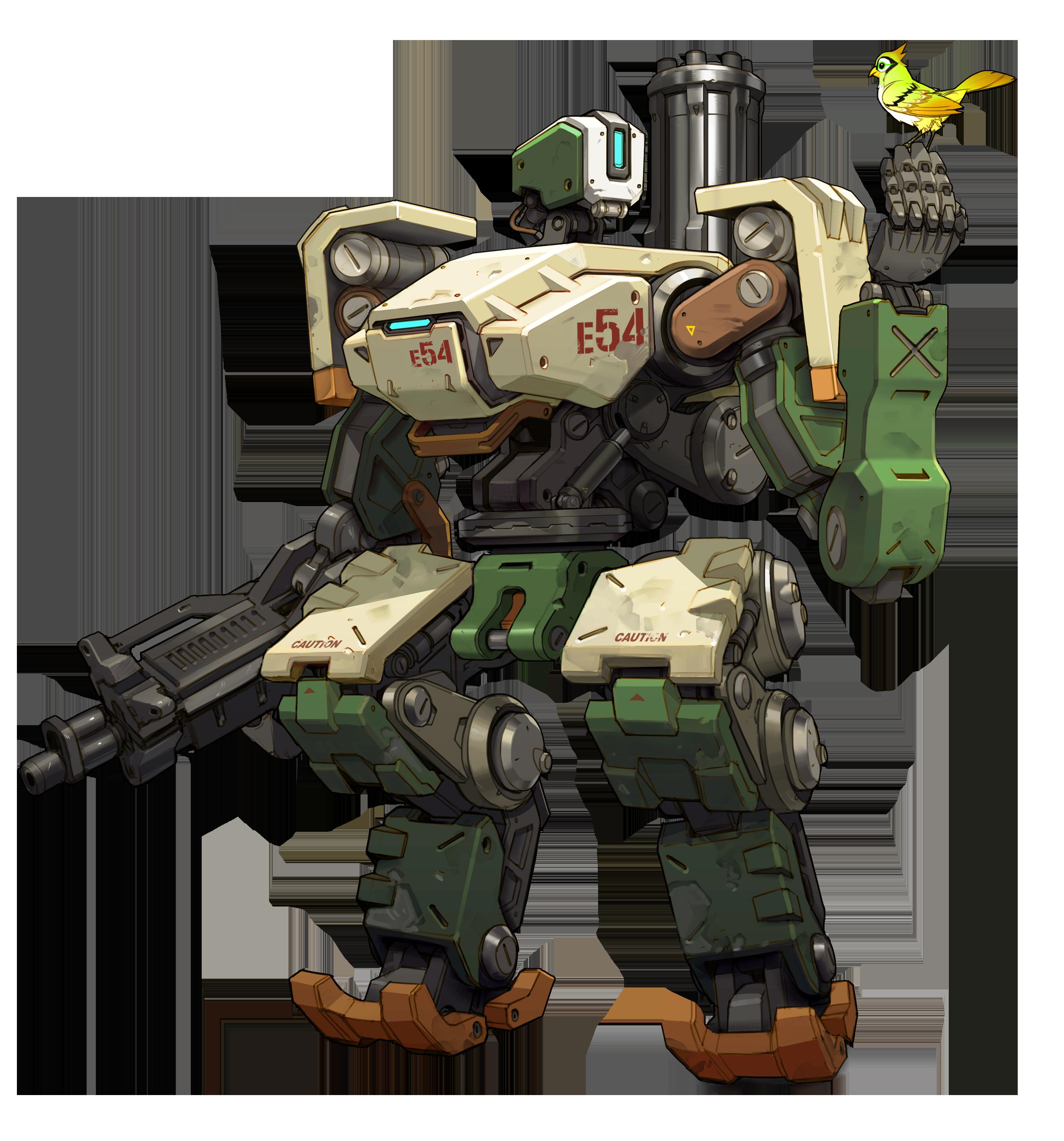 Overwatch Character Art Overwatch Robot Overwatch Bastion Overwatch