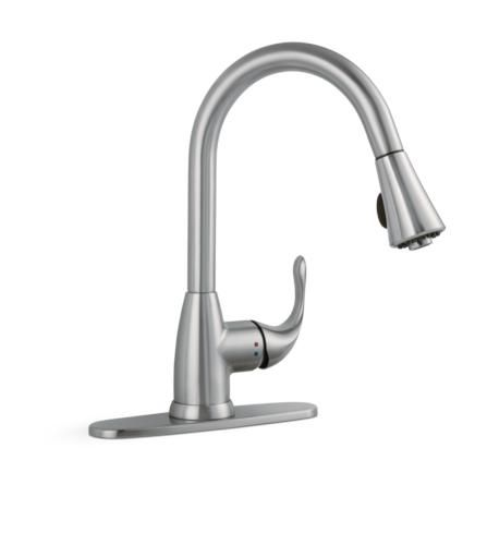 tuscany kitchen faucet macy's sets sharena 1 handle pull down in stainless