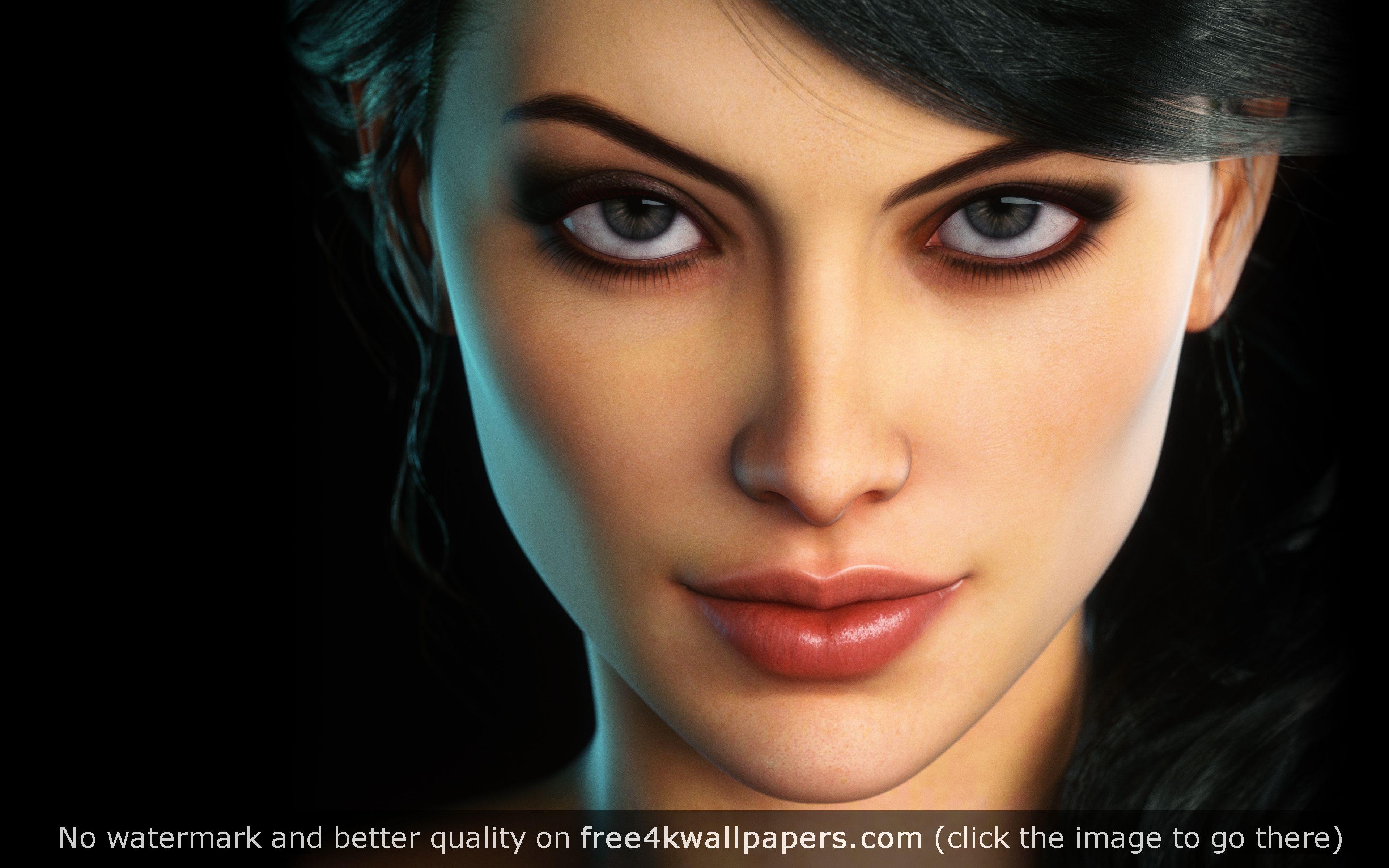 Fantasy Woman Wallpaper Fantasy Women Cute Girl Face