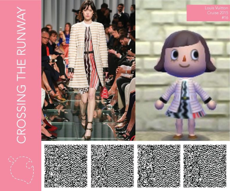 Crossing The Runway 옷 패턴