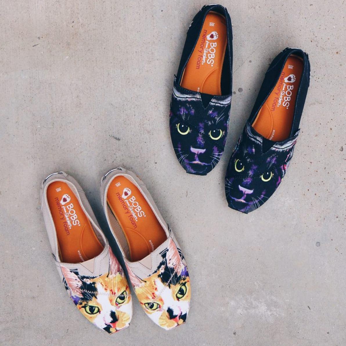 Feline favorites. | Bob shoes, Dog shoes, Skechers