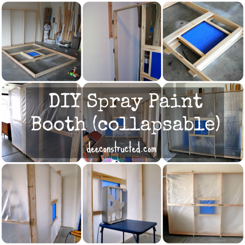 Color Inside The Lines Spray Booth Diy Paint Booth Diy Paint Booth