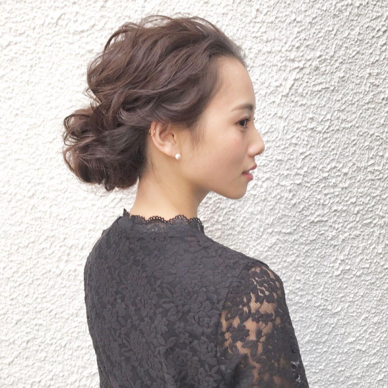 シーン別 簡単アップヘアアレンジで毎日楽しく 前髪なし ヘア