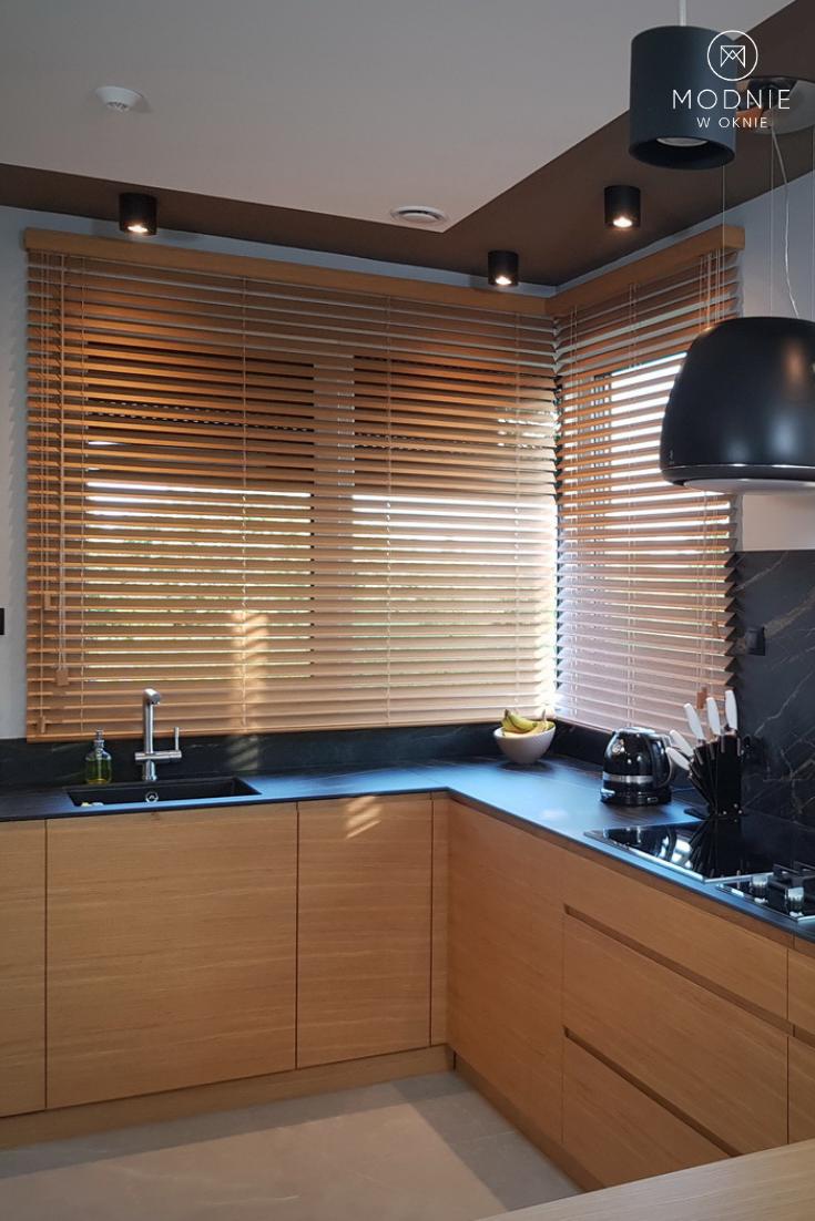 Zaluzje Bambusowe W Kuchni Home House Modern Design