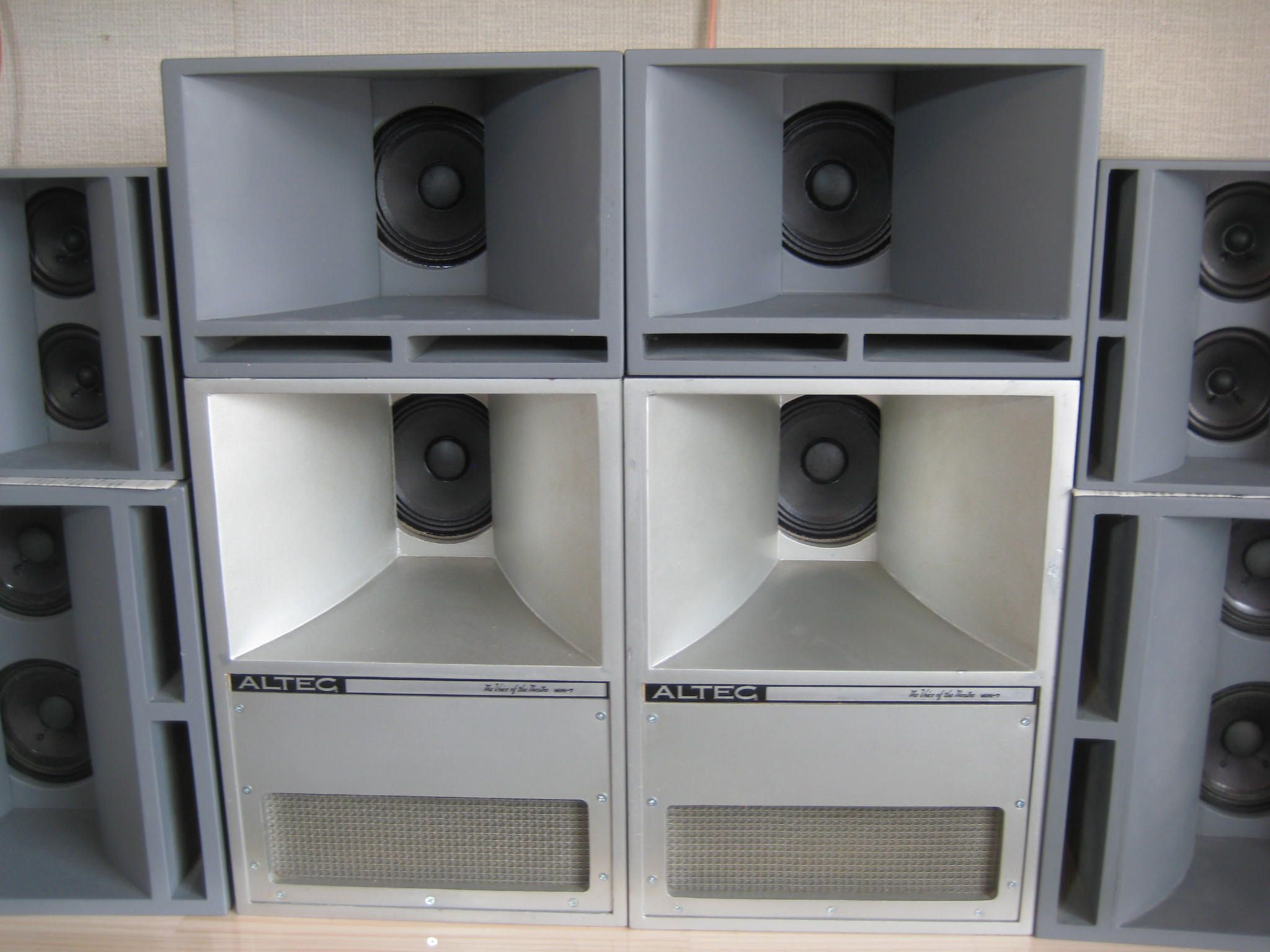 hight resolution of  altec the voice of the theatre cinema theater speakers and sound on