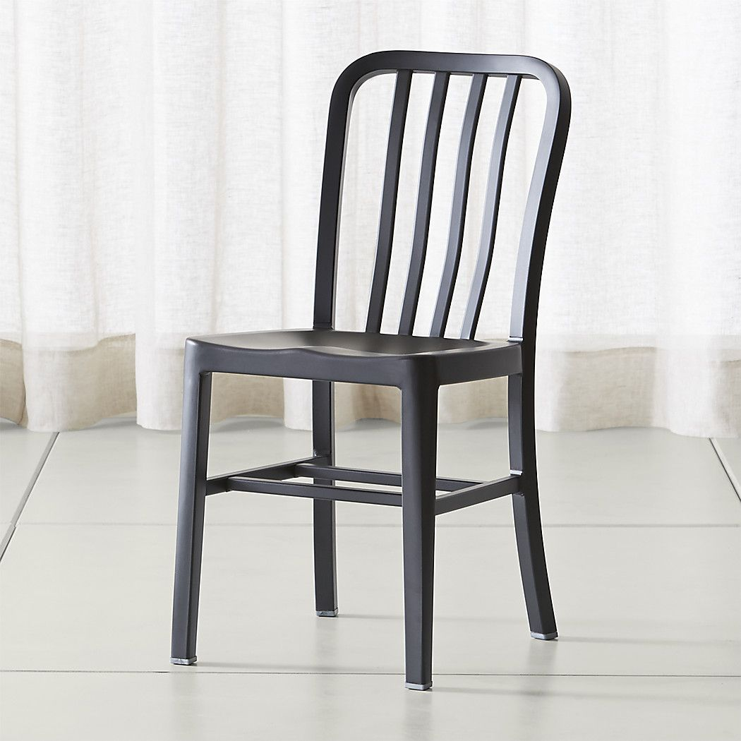 Delta Matte Black Dining Chair Reviews Crate And Barrel
