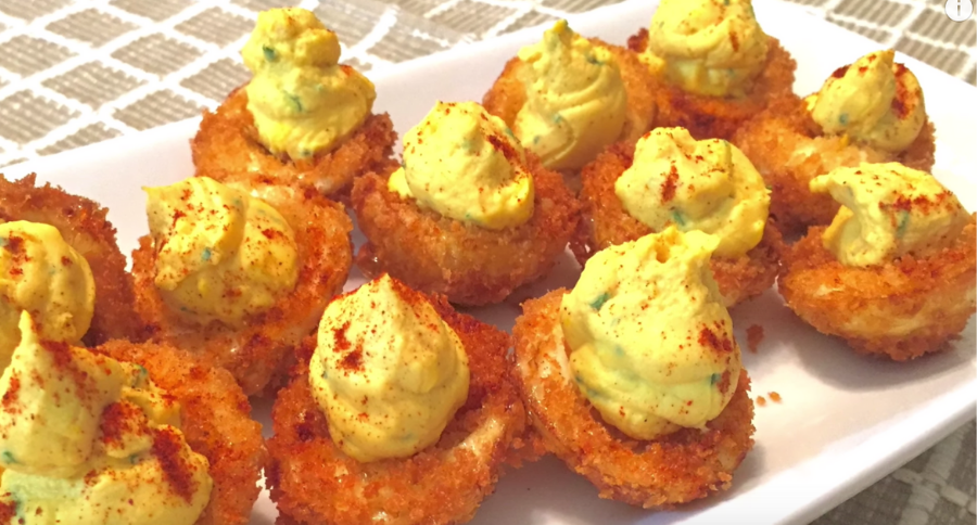 This Deep Fried Deviled Eggs Recipe is a Twist on a Southern Classic