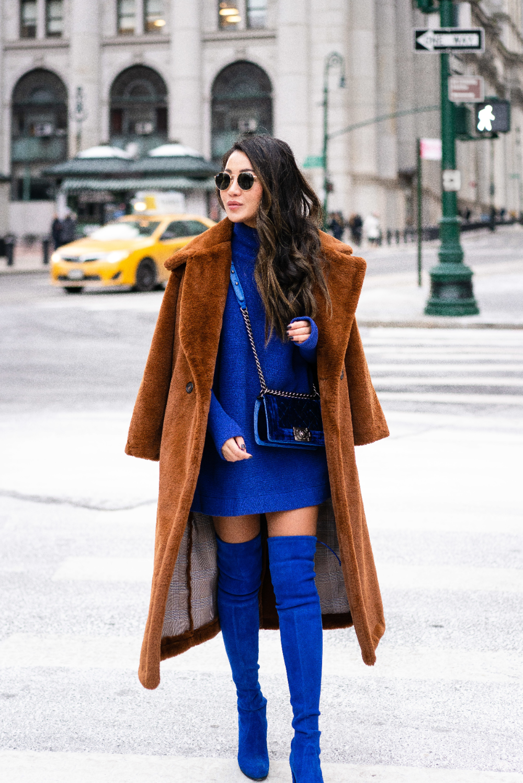 Easy Chic Dressing, Monochromatic Blue – Wendy's Lookbook