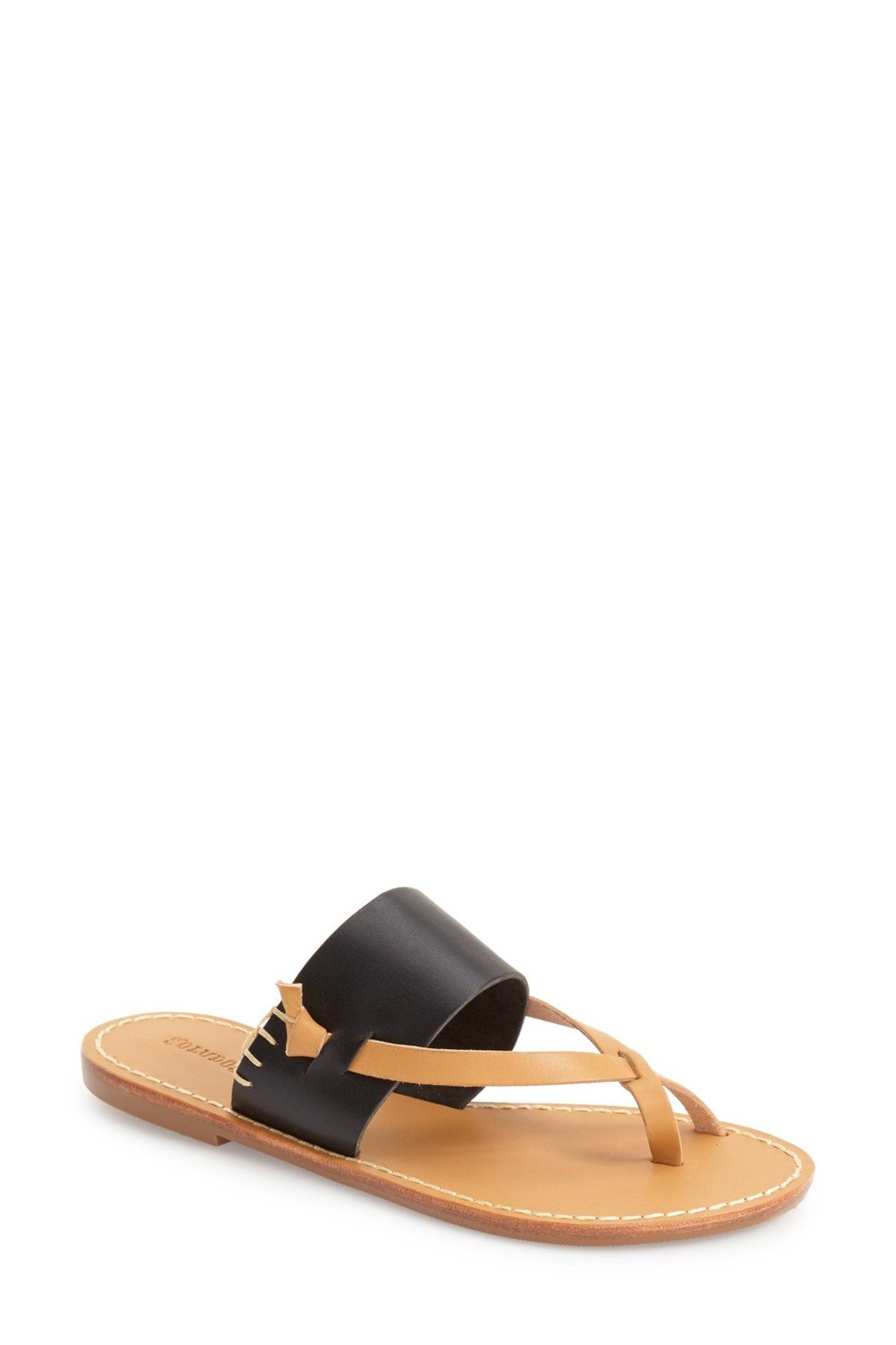 dbd23386442d Slotted Thong Sandal by Soludos on  nordstrom rack