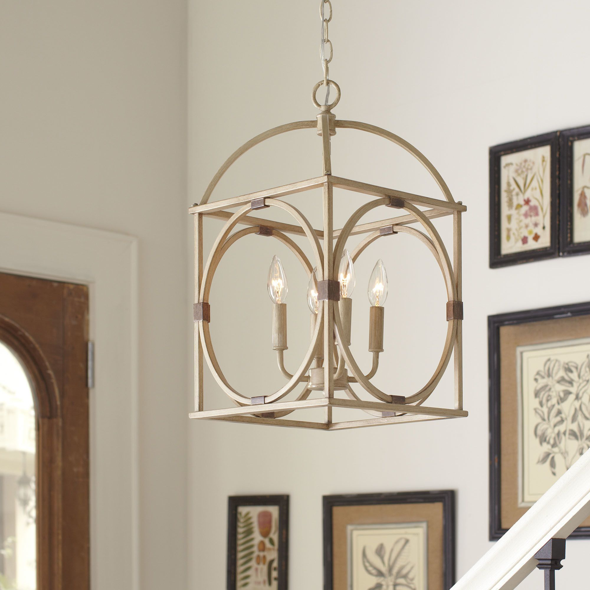 Birch Lane Loraine Light CandleStyle Chandelier Project - Kitchen light fixtures wayfair