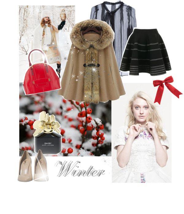 """""""Winter Wonderland"""" by loveegood ❤ liked on Polyvore"""