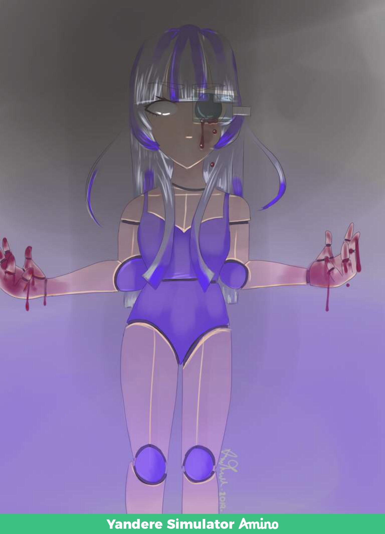 Pin By Amy On Mah Drawingzzzzz Yandere Yandere Simulator Demon