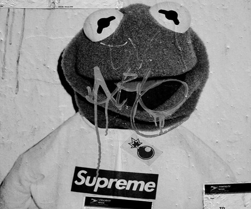 #kermit #supreme #swag