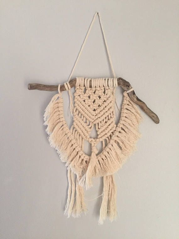 Handcrafted Macrame Wall Hanging  Boho/Natural Style Home
