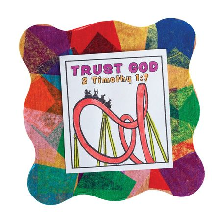 Trust god coasters 501 040 from guildcraft arts crafts for Guildcraft arts and crafts