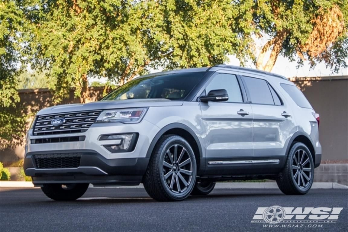 2016 Ford Explorer With 20 Gianelle Wheels Wheel Specialists Inc Tempe Az Us 170734 Ford Explorer Ford Explorer Sport Ford Explorer 2017