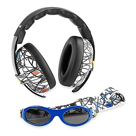 fc59710b31 Baby Banz Size 0-2 Years earBanZ Hearing Protection with Sunglasses in Lime
