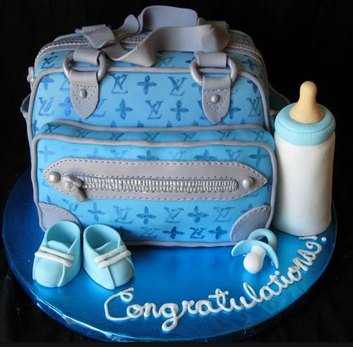 Awesome Diaper Bag Cakes For Boys With Images Diaper Bag Cake