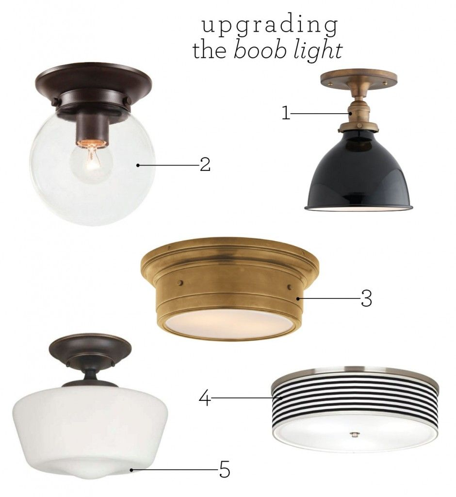 Upgrading the Boob Light Lights House and Kitchens