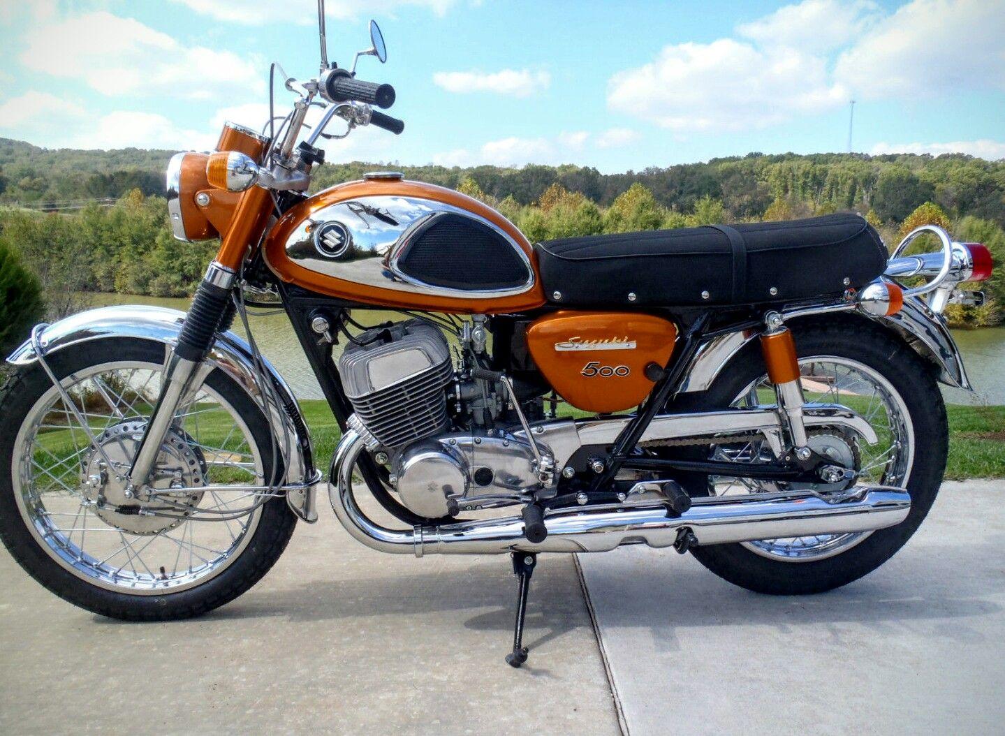 Suzuki Motorcycles For Sale >> 1968 Suzuki Cobra 500 Suzuki Cafe Racer Suzuki Bikes