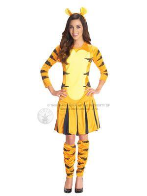 Adult Disney Miss Tigger Fancy Dress Costume Winnie the Pooh