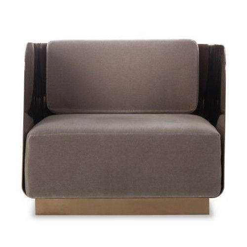 Kelly Hoppen Vinci Occasional Chair | Living rooms, Candelabra and ...