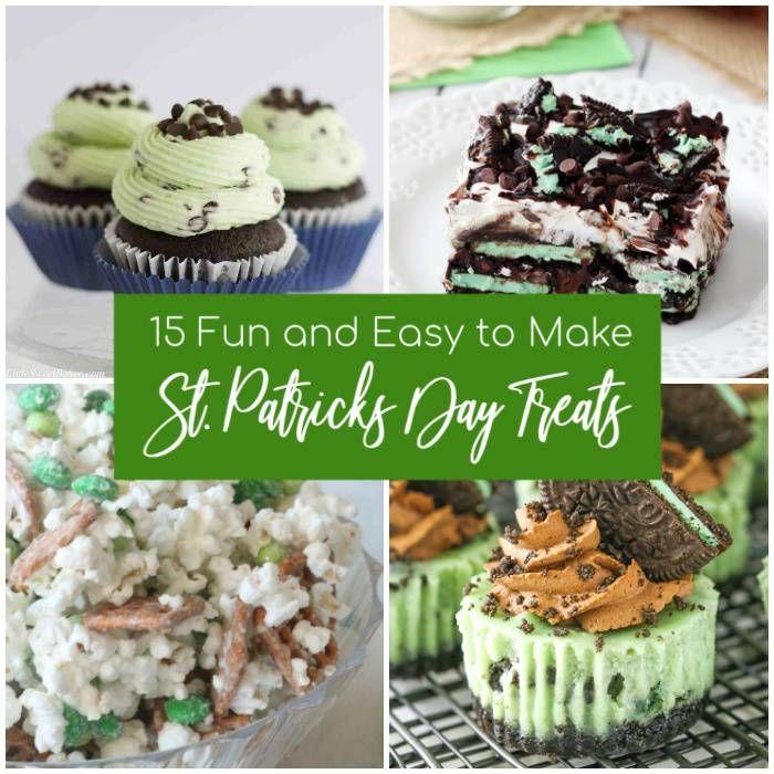 St Patricks Day Treat Recipes
