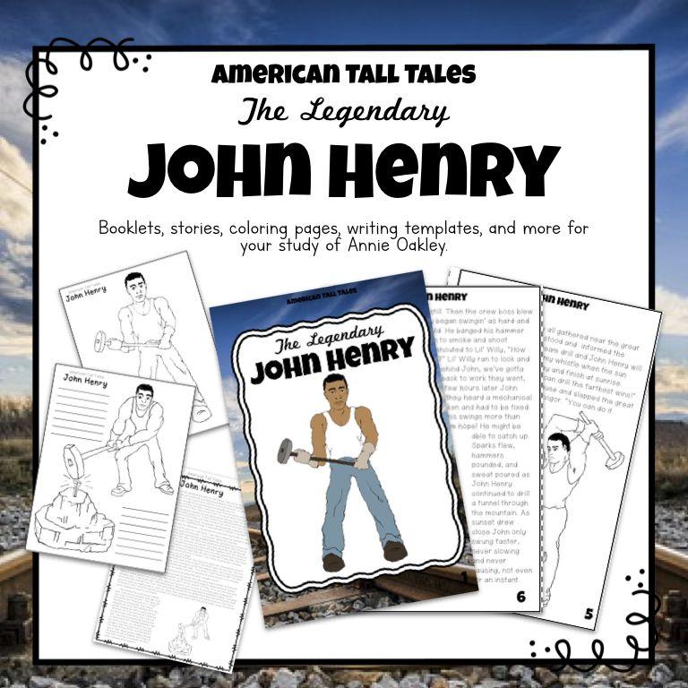 Tall Tales Unit John Henry Tall Tales Special Education Classroom Preschool Special Education