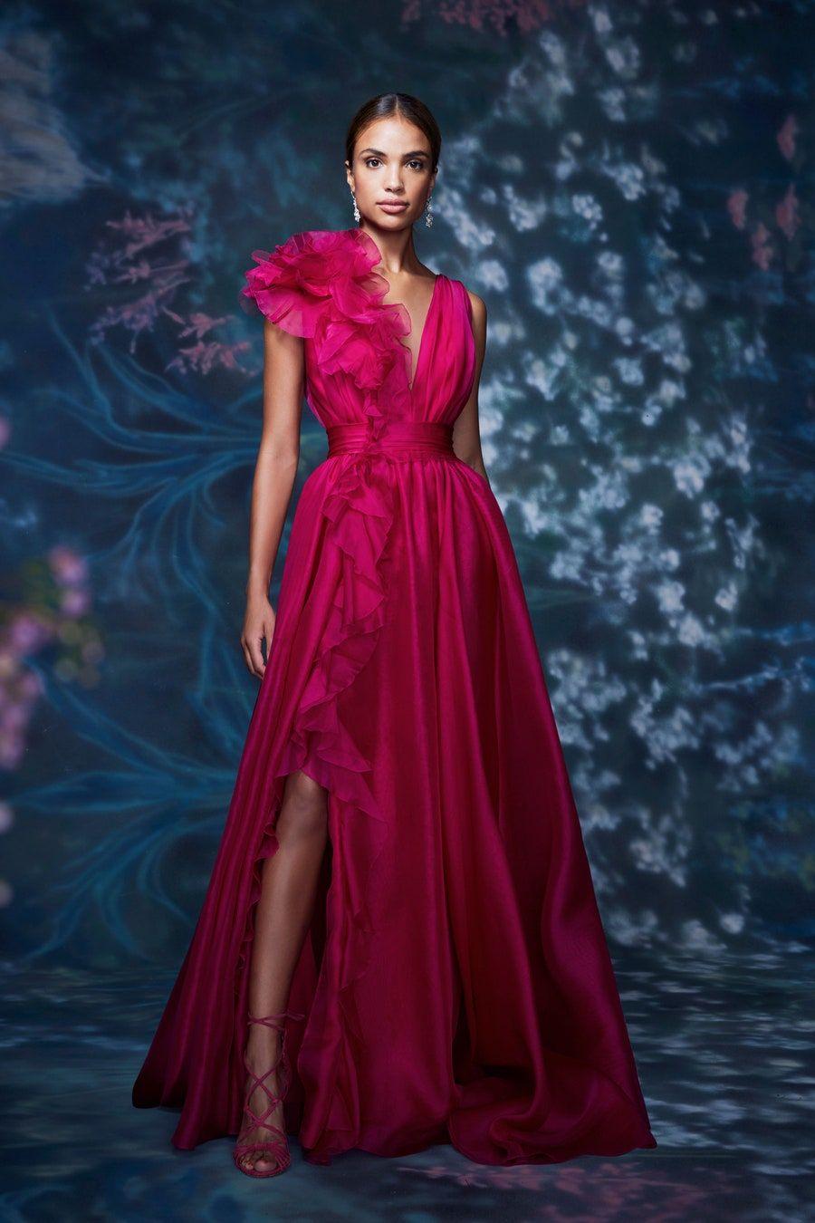 Marchesa Spring 8 Ready-to-Wear Fashion Show  Fashion attire