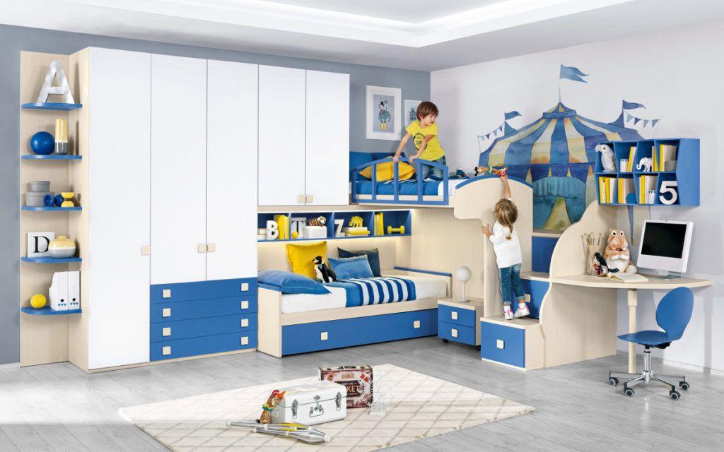 Letti A Castello Per Bambini Mondo Convenienza.Camerette Mondo Convenienza Componibili E A Composizione Fissa