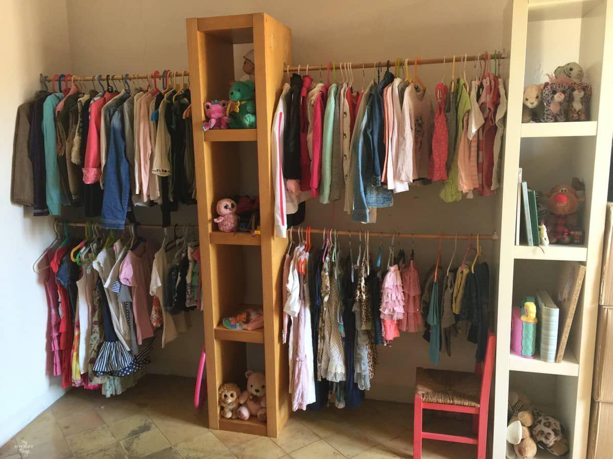 vestidor diy para una habitacin de nios - Habitacion Vestidor