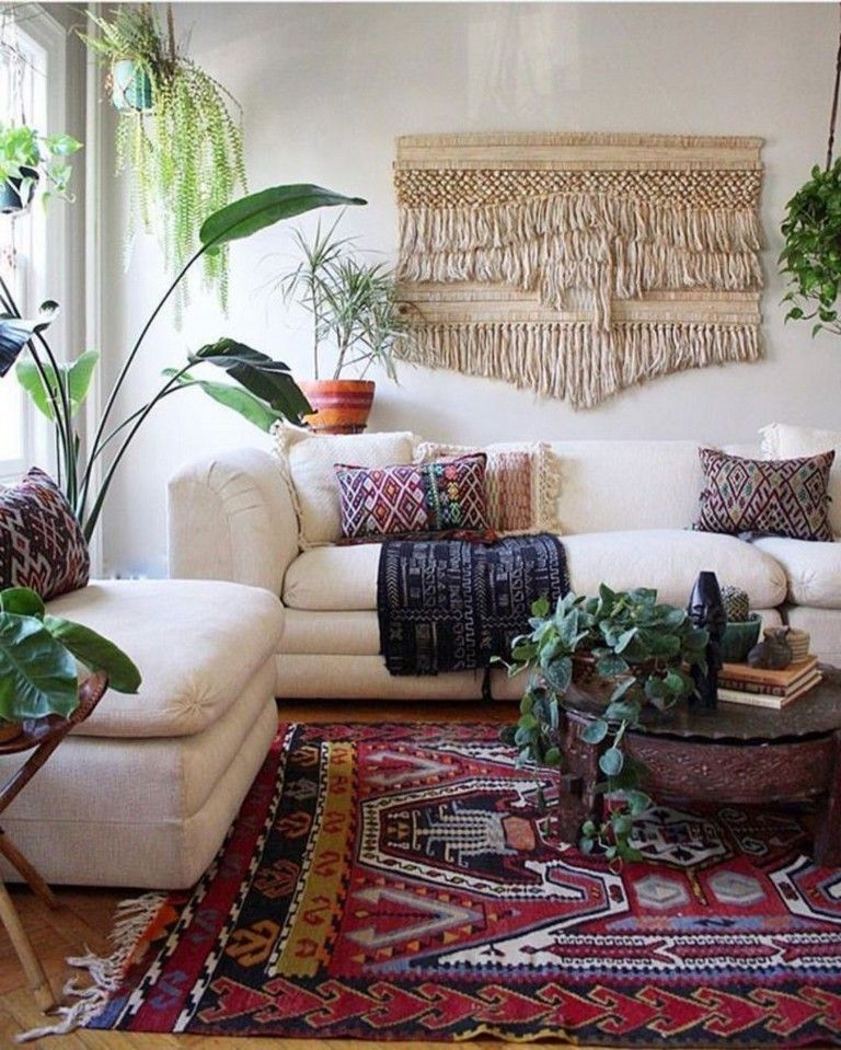 40 wonderful and colorful bohemian living room ideas for rh pinterest com