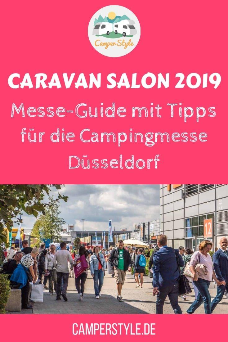 MesseGuide Tipps für den Caravan Salon Düsseldorf 2019