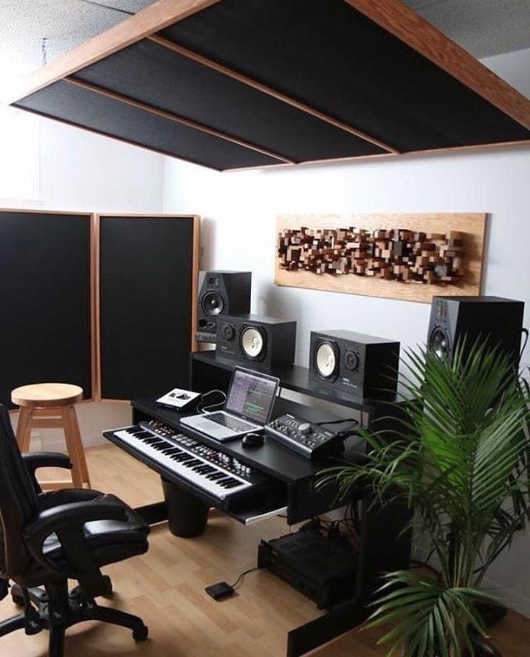 Beats Maker Studio Enregistrement Instrumental Rap Musique 2019 Studio Interior Home Studio Music Home Studio Setup