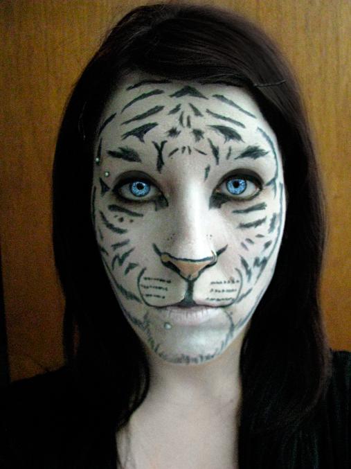 deviantART More Like Snow Leopard Makeup by !JinkxyKitten