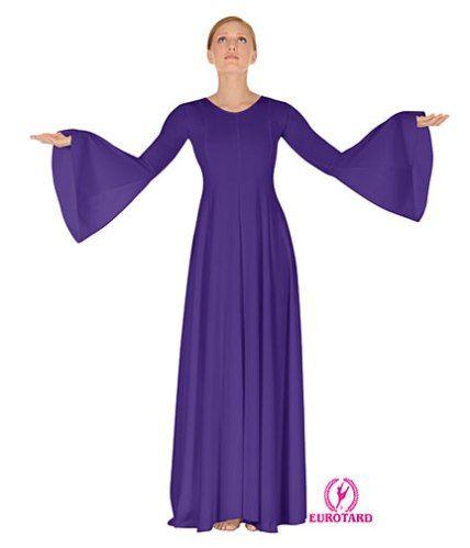 Eurotard long sleeve dance dress