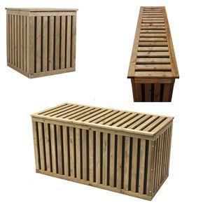 Details Zu Keter Pack Go Kissenbox 1185x53x59cm Garten