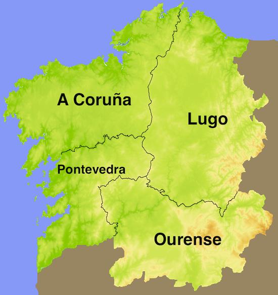 Mapa De Galicia Pueblos.Pin De Tough Cookie Mommy En Galicia Spain Spain Spain