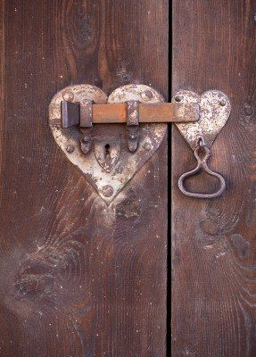 heart shaped door lock | Hearts | Pinterest | Heart shapes, Doors ...