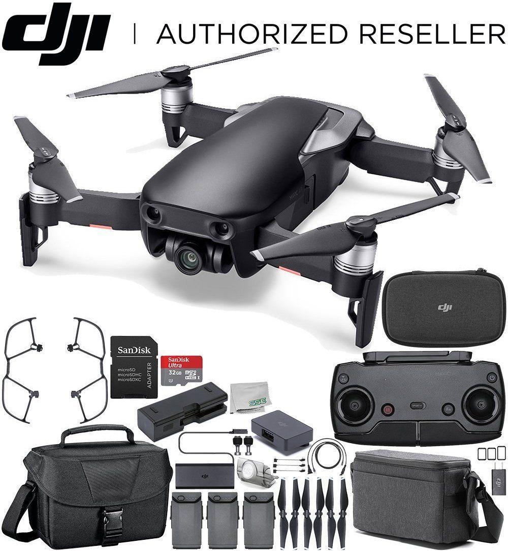 DJI Mavic Air Drone Quadcopter FLY MORE COMBO Onyx Black