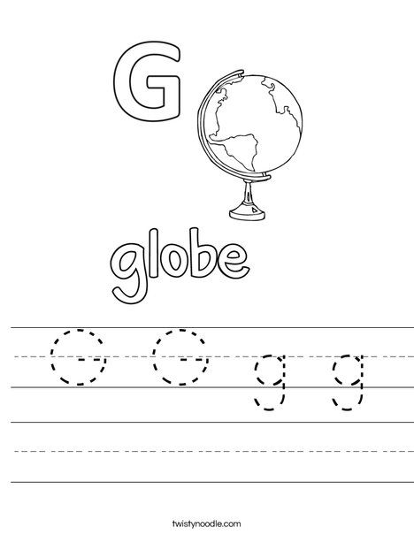 G G g g Worksheet - Twisty Noodle | Worksheets, Mini books ...